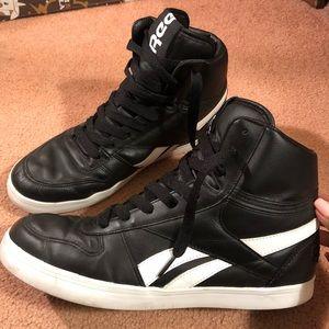 Reebok Shoes | Mens Black Reebok High
